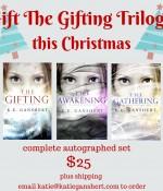 The Gifting trilogy Christmas gift